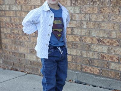 Wyatt's Superman Session